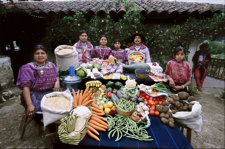 Guatemala, Todos Santos: The Mendozas family spends around $76 per week.
